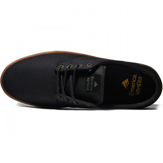 Emerica The Romero Laced Shoes - Black/Grey/Gum - 8.0