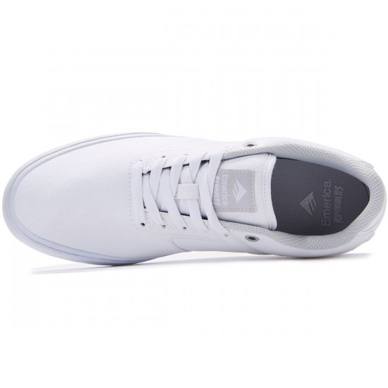 Emerica The Reynolds Low Vulc Shoes - White - 7.0