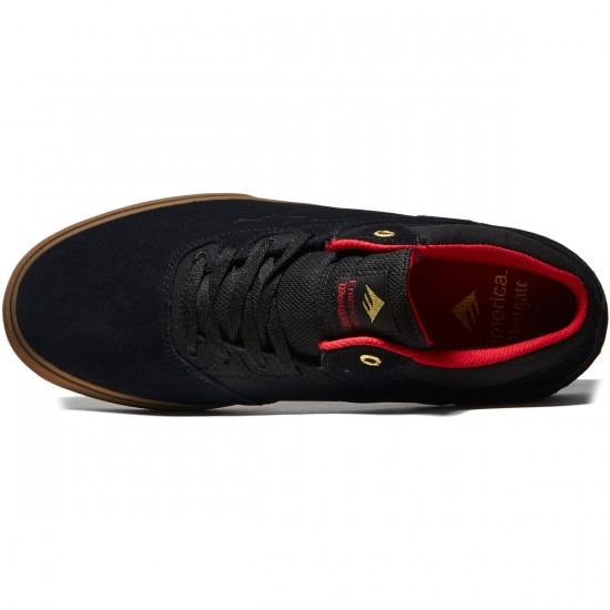 Emerica Westgate Mid Vulc Shoes - Black/Gum - 8.0