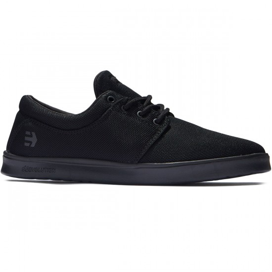 Etnies Barrage SC Shoes - Black/Black/Black - 8.0