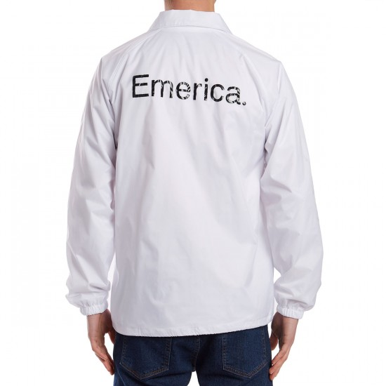 Emerica Triangle Coaches Jacket - White