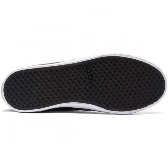 Emerica Indicator High Shoes - Black/White - 8.0