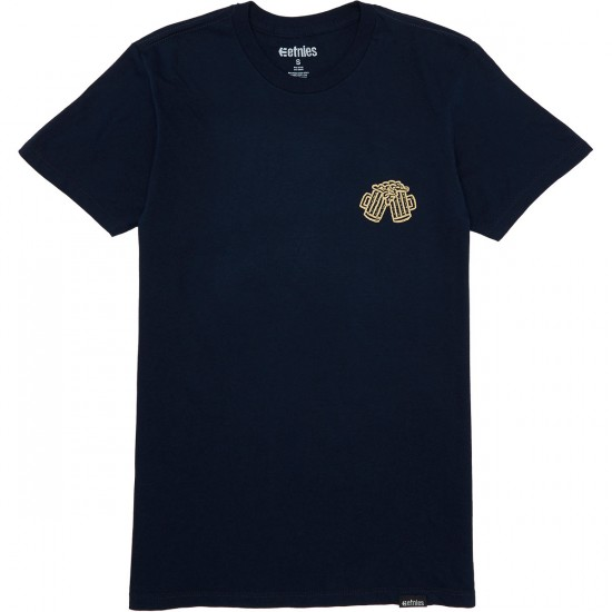Etnies Tropical Cheers T-Shirt - Navy