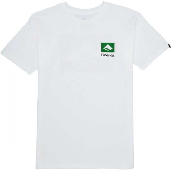 Emerica Brand Combo T-Shirt - White