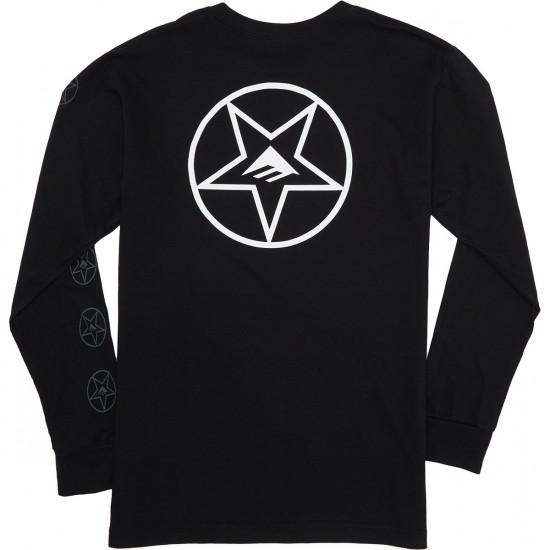 Emerica Trigram Longsleeve T-Shirt - Black