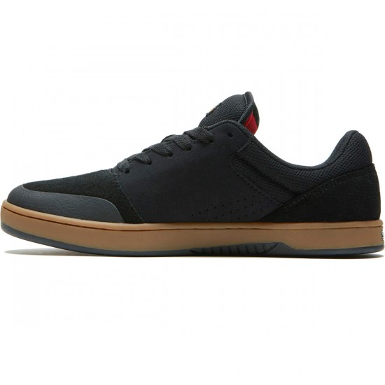 Etnies Marana Michelin Shoes - Black/Red/Gum - 8.0