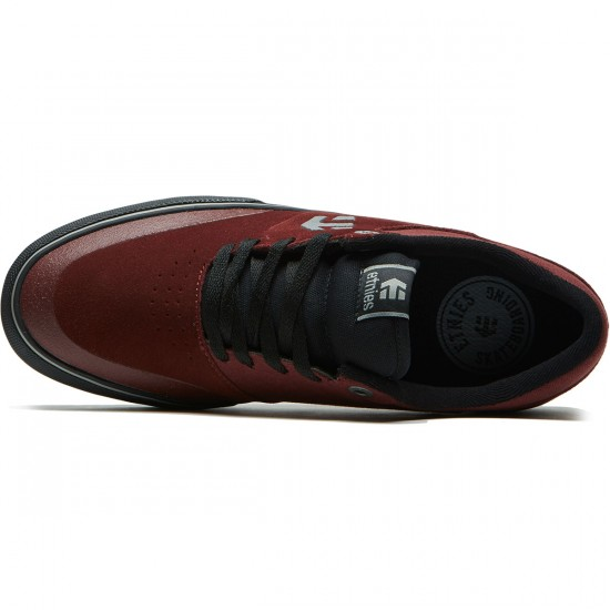 Etnies Marana Vulc Shoes - Red/Black/Grey - 8.0