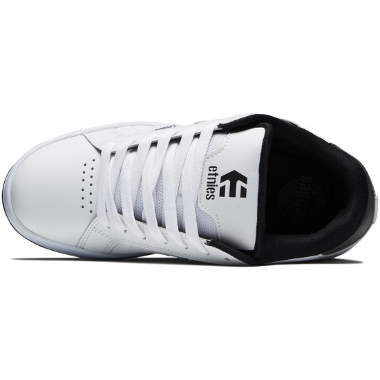 Etnies Fader 2 Shoes - White/Grey/Black - 8.5