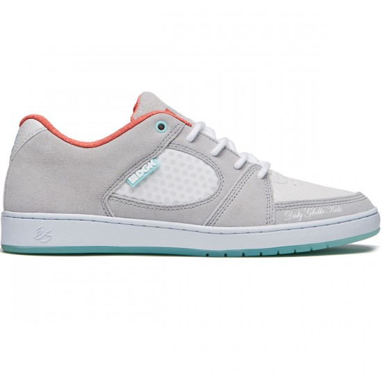 eS Accel Slim X DGK Shoes - Grey/White - 8.0
