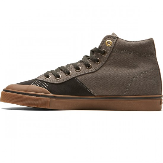 Emerica Indicator High Shoes - Dark Grey/Black/Gum - 8.0