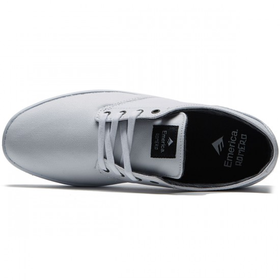 Emerica The Romero Laced Shoes - White/White/Black - 8.0