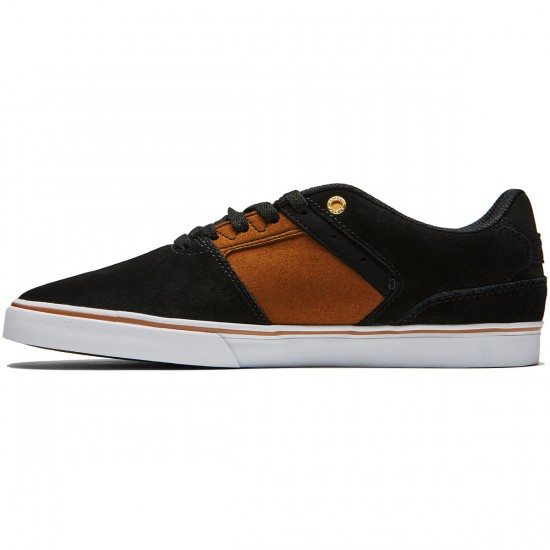 Emerica The Reynolds Low Vulc Shoes - Black/Tan - 8.0