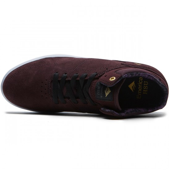 Emerica The Hsu G6 Shoes - Purple/White - 8.0