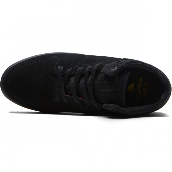 Emerica The Hsu G6 Shoes - Black/Dark Grey - 8.0