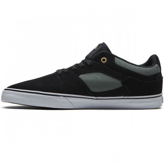Emerica The Hsu Low Vulc Shoes - Black/Grey/White - 8.0