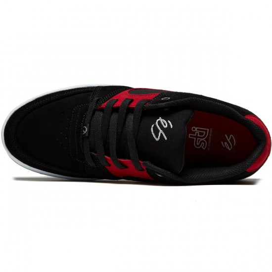 eS Accel Slim Shoes - Black/Red/White