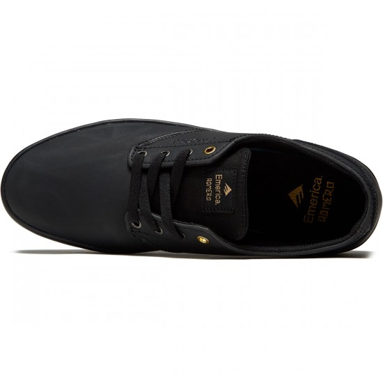Emerica The Romero Laced Shoes - Black - 8.0