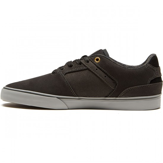 Emerica The Reynolds Low Vulc Shoes - Dark Grey/Grey - 8.5