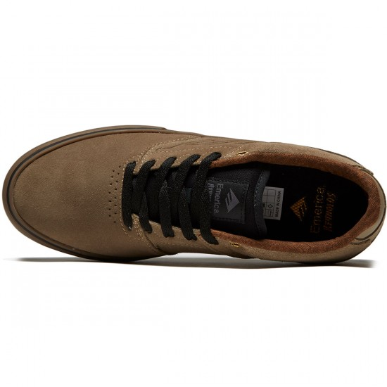 Emerica The Reynolds Low Vulc Shoes - Tan - 8.0
