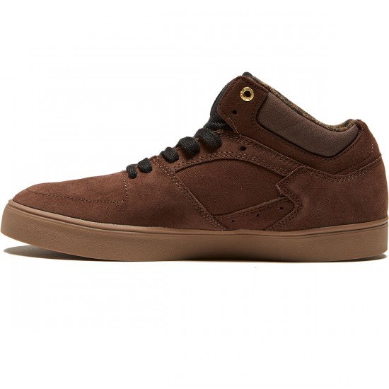 Emerica The Hsu G6 Shoes - Dark Brown