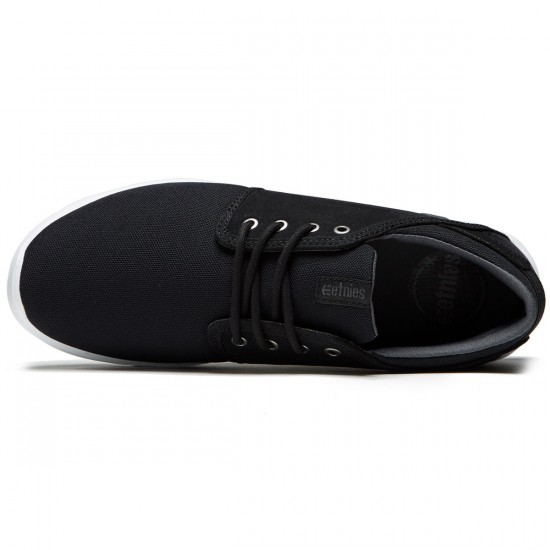 Etnies Scout Shoes - Black/Charcoal/Gum - 8.0
