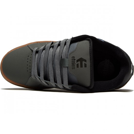Etnies Fader 2 Shoes - Grey/Black/Gum - 8.0