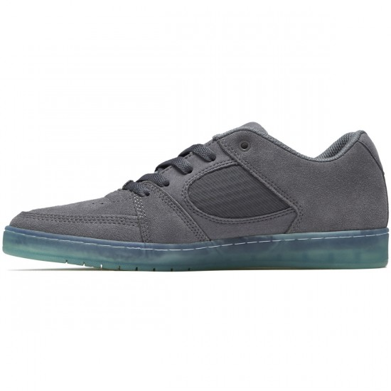 eS Accel Slim Shoes - Dark Grey/Blue - 8.5