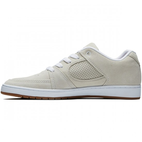 eS Accel Slim Shoes - White/White/Gum