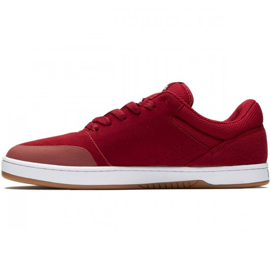 Etnies Marana Shoes - Red/White - 8.5