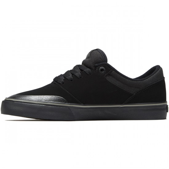 Etnies Marana Vulc Shoes - Black/Dark Grey