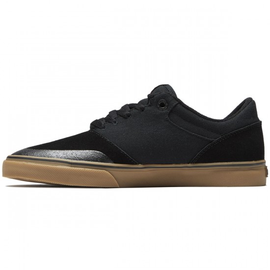 Etnies Marana Vulc Shoes - Black/Red/Gum - 8.5