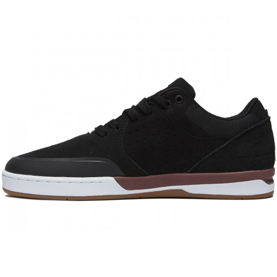 Etnies Marana XT Shoes - Black/White/Burgundy - 8.5