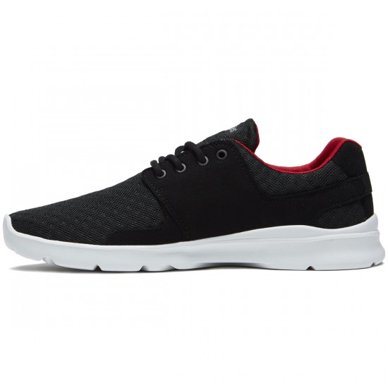 Etnies Scout XT Shoes - Black/White/Red - 8.5