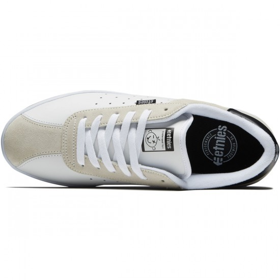 Etnies The Scam Shoes - White/Black - 8.5