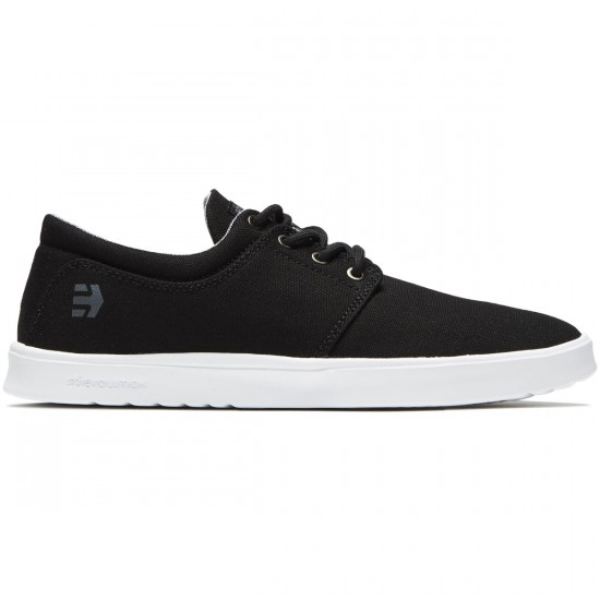 Etnies Barrage SC Shoes - Black/Grey/White - 10.5