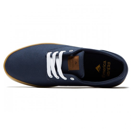 Emerica The Romero Laced Shoes - Navy/Gum/White - 8.5