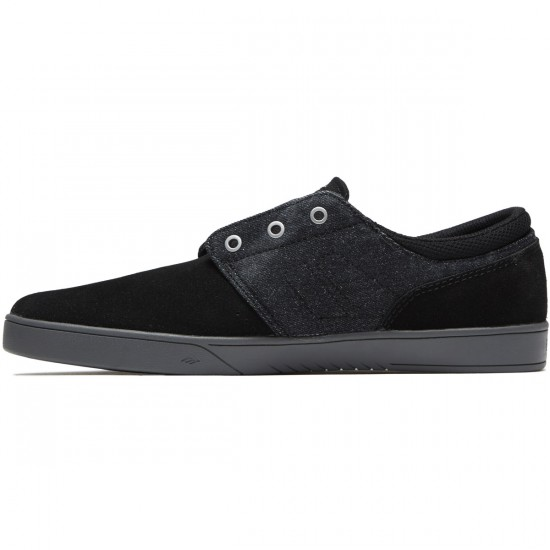 Emerica The Figueroa Shoes - Black/Grey/Silver - 8.5