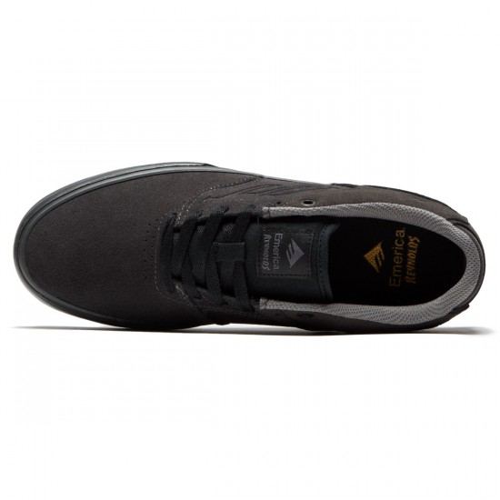Emerica The Reynolds Low Vulc Shoes - Dark Grey/Black