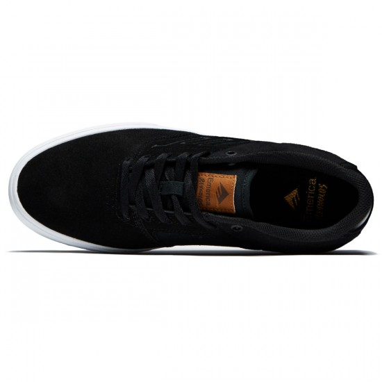Emerica The Reynolds Low Vulc Shoes - Black/Brown - 8.5
