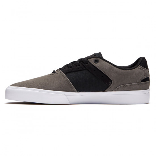 Emerica The Reynolds Low Vulc Shoes - Grey/Black/White - 8.0