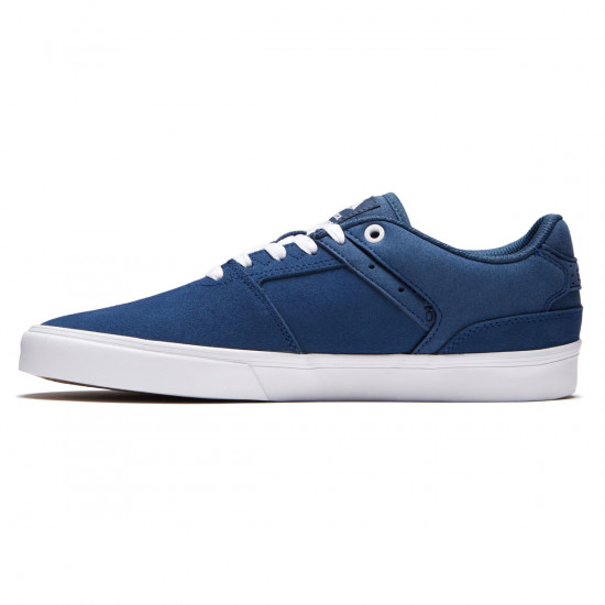 Emerica The Reynolds Low Vulc Shoes - Blue/White/Gum - 8.0