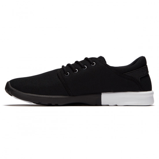 Etnies Scout Shoes - Black/White/White