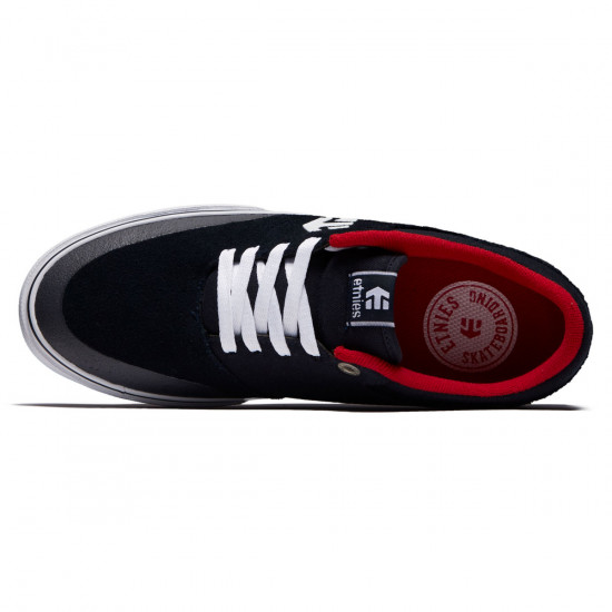 Etnies Marana Vulc Shoes - Navy/White/Red
