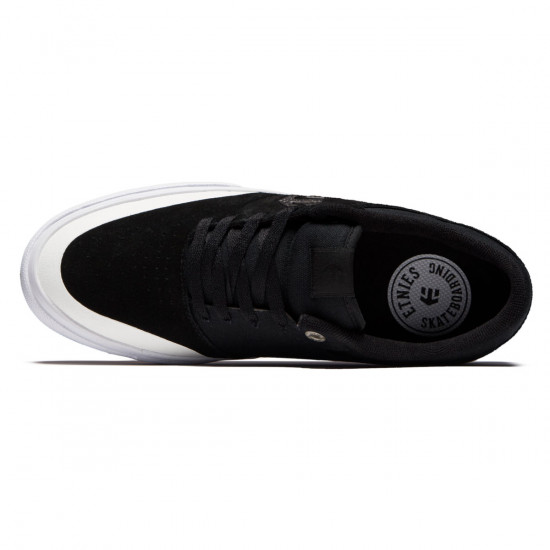 Etnies Marana Vulc Shoes - Black/White/Silver - 8.5