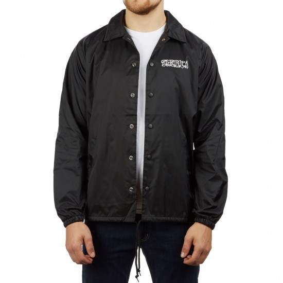 Emerica Spanky Skull Jacket   Black by Ccs