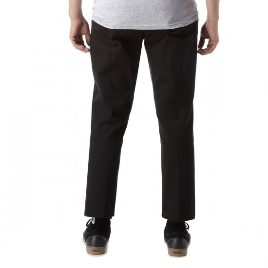 Obey Straggler Flooded Pants - Black - 30 - 32