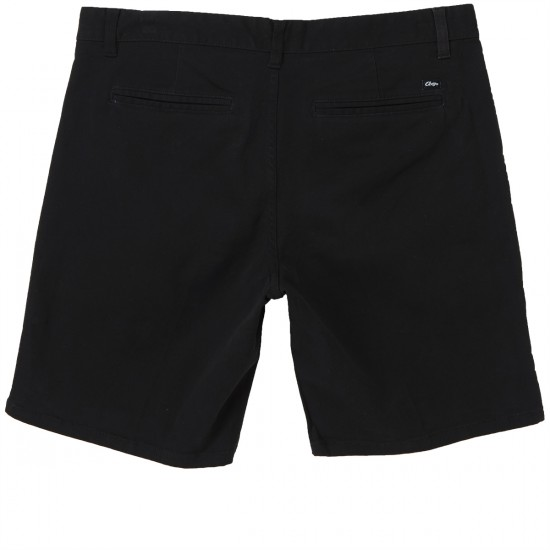 Obey Working Man II Shorts - Black