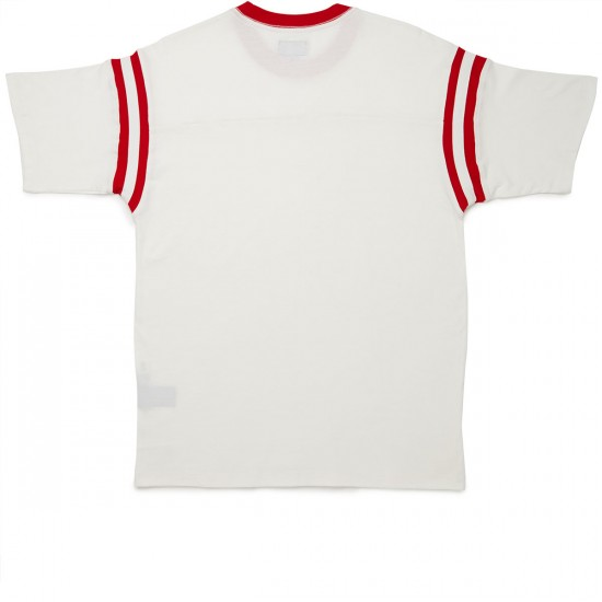 Obey Lines T-shirt - White