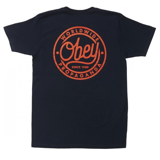 Obey Since 1989 T-shirt - Navy