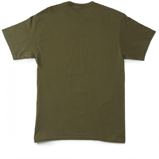 Obey Friendly Reaper T-shirt - Military Green